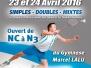 Tournoi séniors : 23 et 24 avril 2016