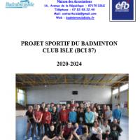 Projet club B.C. Isle 2020/2024